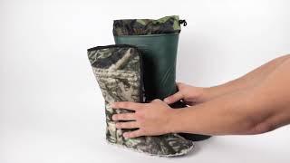 Мужские сапоги эва оптом СЭ-02 зеленые от компании Sapatos - видео