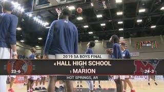 2019 Basketball State Finals: 5A Boys - Little Rock vs  Marion