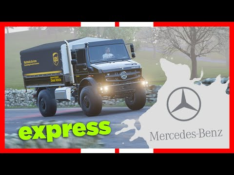 Forza Horizon 4 | Mercedes-Benz Unimog - UPS - Gameplay
