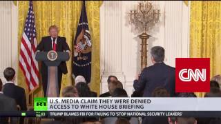 'Americans held hostage for too long, Trump right to bar MSM from White House gaggle'