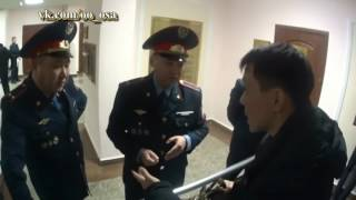 Адвокат Бауыржан Азанов легко доказал свою правоту... полковникам полиции