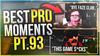 FORMAL ROASTS GODRX! SCUMP IS COMEDY! (Best PRO Moments Pt93)