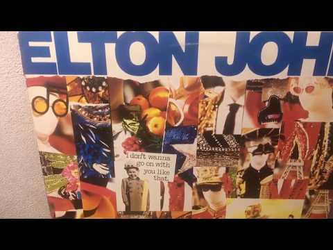 Elton John ‎– I Don't Wanna Go On With You Like That (The Shep Pettibone Mix) Vinyl 1988