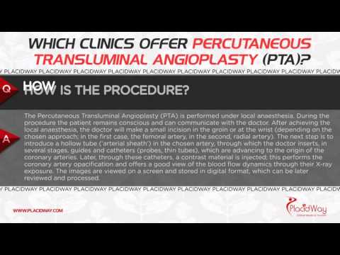 Which Clinics Offer Percutaneous Transluminal Angioplasty (PTA)?