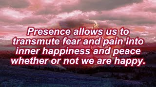 Happiness Handbook ~ Phrases Of Presence 44