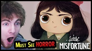 Little Misfortune - My NEW FAVORITE Horror Game - (Little Misfortune Part 1 Gameplay)
