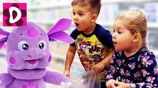 Волшебный Лунтик В МАГАЗИНЕ Купи Меня! Kids Videos Мультики для Детей Лунтик Новые Серии от Дианы