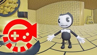 360° Video - Bendy Build Our Machine