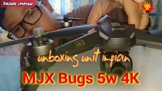 BERBURU DRONE IMPIAN | Unboxing unit baru, MJX Bugs 5w 4K..