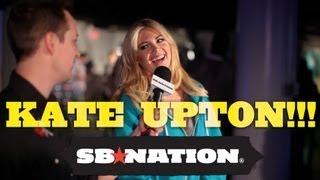 Kate Upton & NY Giants' Jason Pierre-Paul at Axe Combine House thumbnail