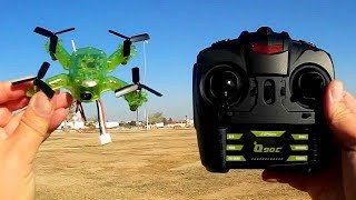 Eachine Q90C Intro Micro FPV Drone Flight Test Review