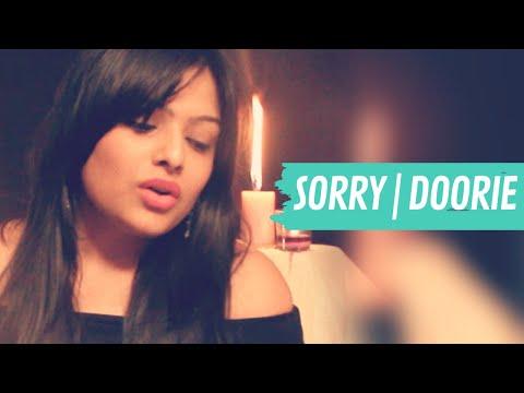 Sorry Hindi Version - Justin Beiber   KavyaKriti   Doorie