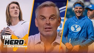 Zach Wilson smells like trouble, let's stop nitpicking Trevor Lawrence — Colin | NFL | THE HERD