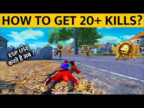 HOW TO GET 20+ KILLS IN EVERY CLASSIC MATCH AND HOW TO SPOT ENEMIES IN PUBG MOBILE | Tiger Salman