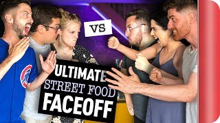 THE ULTIMATE 8-WAY STREET FOOD FACE OFF