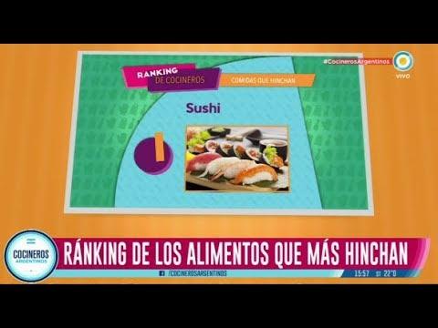 Top 6 de los alimentos que más hinchan