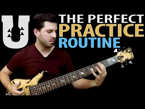 How to Structure Your Practice Routine - Online Bass Lesson