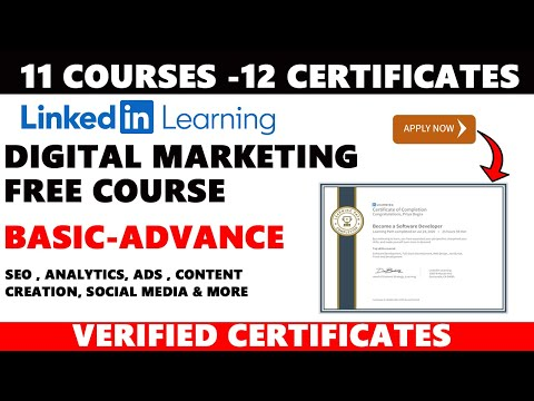 LinkedIn Premium Courses with Certificate | FREE Digital Marketing ...