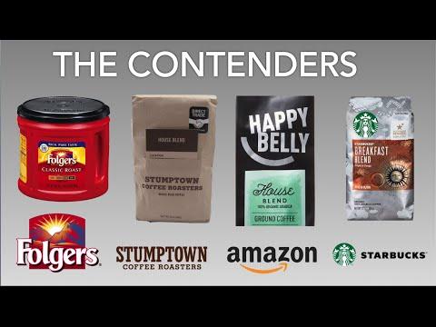Taste test: Amazon's new coffee vs. Stumptown, Folgers and Starbucks