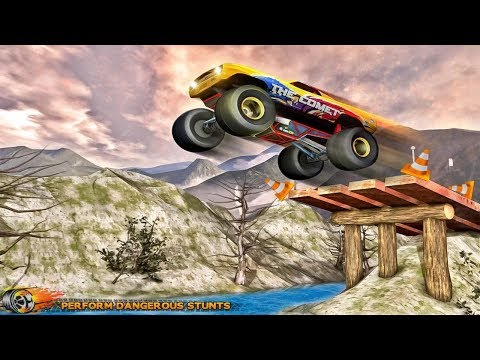 Off Road Racer Monster Truck: Stunt Game  (GAMEPLAY OFFICIAL) By. Gamers Pulse Inc. Racing