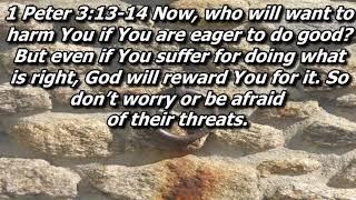 1 Peter 3:13-22
