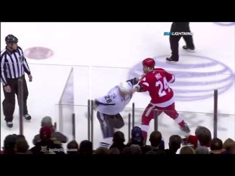 Brad May vs. Zenon Konopka