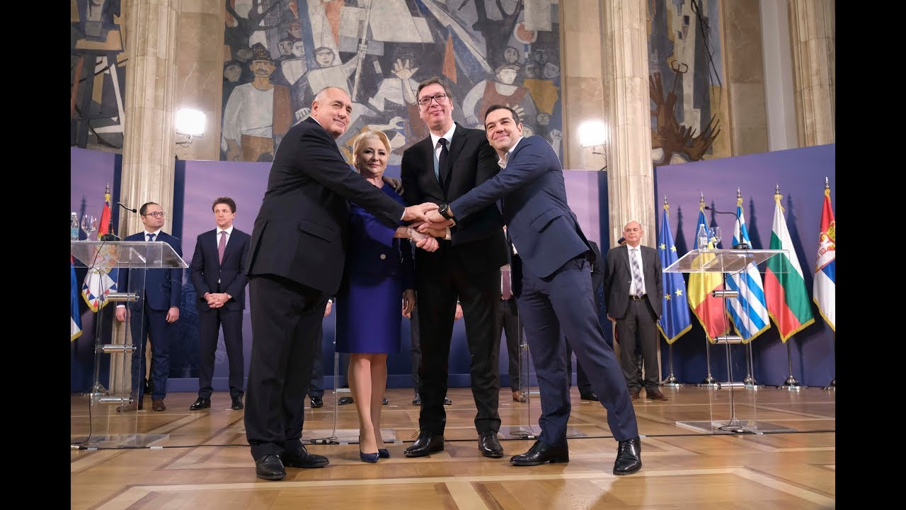 Δηλώσειςμετά την ολοκλήρωση των εργασιών της Συνόδου Ελλάδας-Σερβίας-Βουλγαρίας-Ρουμανίας