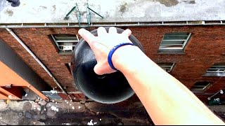 What Will Happen if Bowling Ball is Dropped From 100FT!!? WillitBREAK? -SHOCKING RESULT