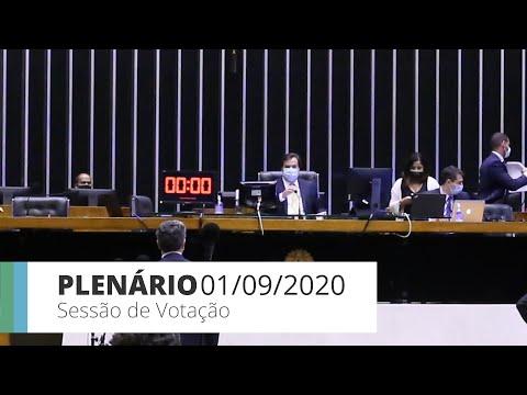 Plenário - Deputados concluem votação do novo marco legal do gás natural - 01/09/2020  19:39