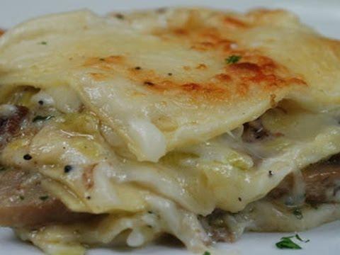 Lasagne Funghi e Speck: primo piatto ricco e gustoso - Chef