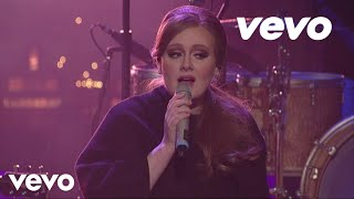 Adele (Адель) - Make You Feel My Love (Live On Letterman)