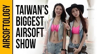 The Biggest Airsoft Show in the World?  | Airsoftology Taiwan VLOG