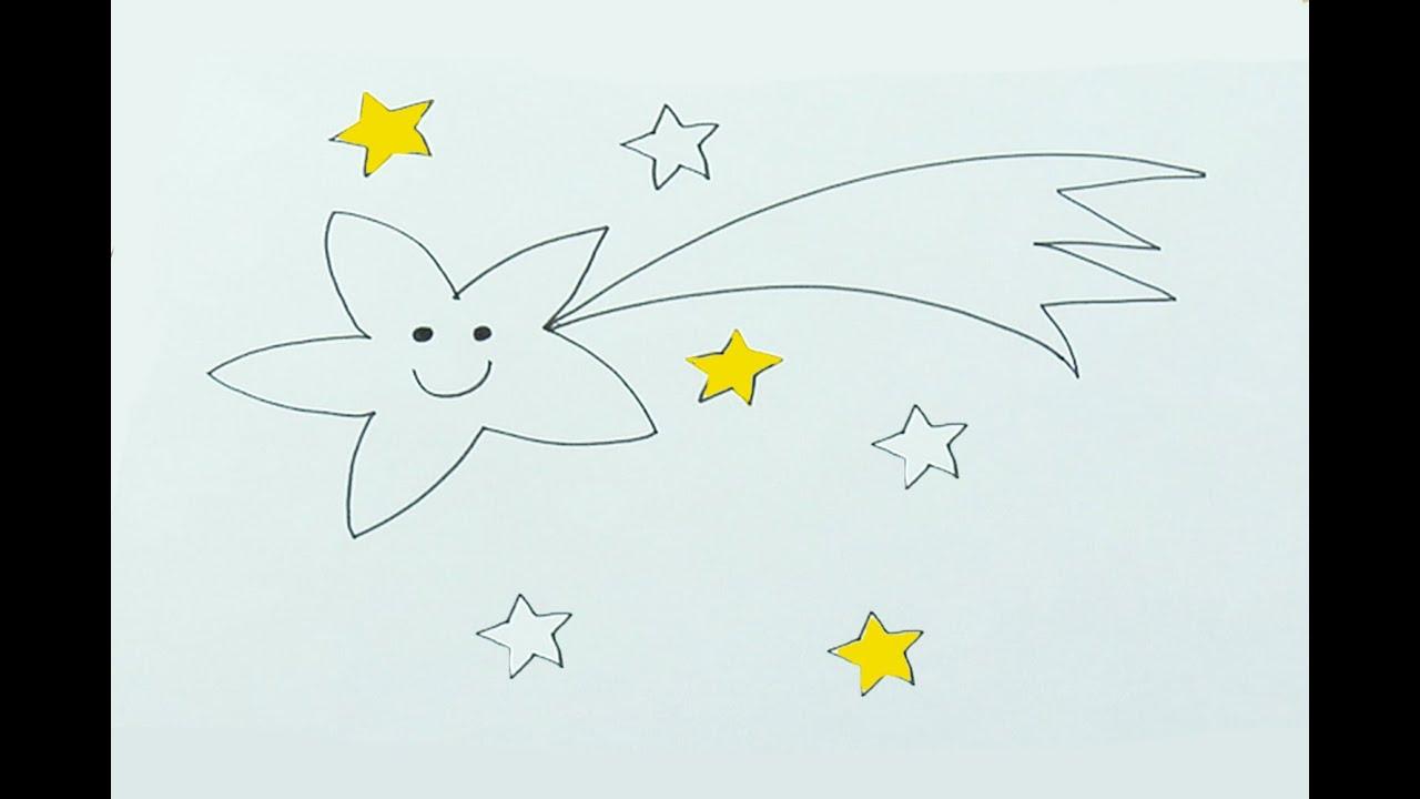 Cómo dibujar una estrella navideña con los niños