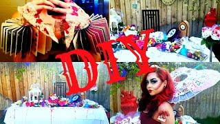 DIY Mad Hatter Tea Party & Queen Of Hearts Cosplay + BLOOPERS   2017 USA NYX FACE AWARDS Cont.