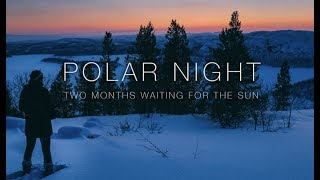 Life without sunlight in the arctic circle during winter's 'Polar Night' for 2 months
