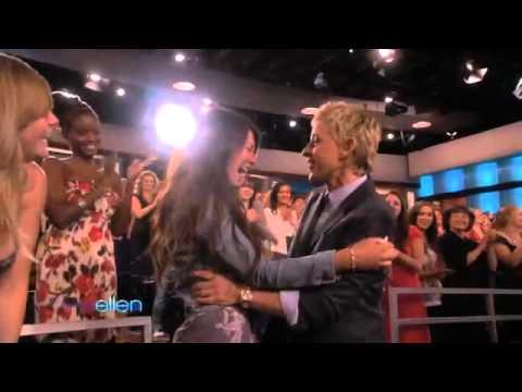 Ellen Loves Her Fans!