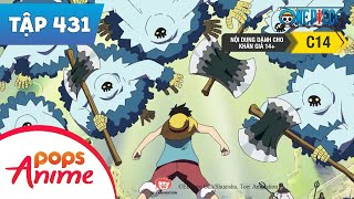 One Piece Tập 431 - Bẫy Của Trưởng Đội Lính Canh Saldeath. Tầng 3 - Địa Ngục Đói Khát - Đảo Hải Tặc