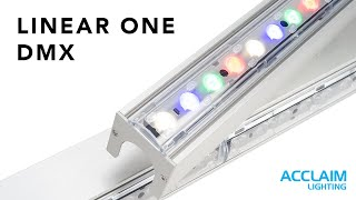 Acclaim Lighting Introduces Linear One DMX