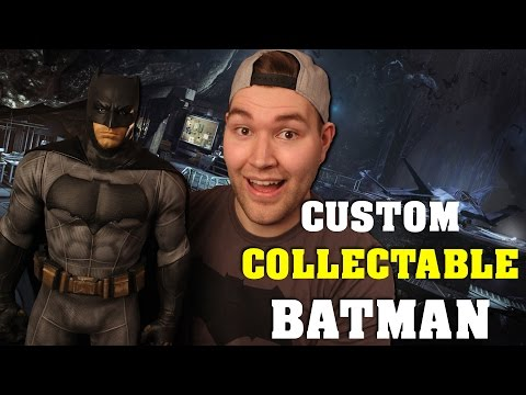 Cosplay Chris Custom Collectable Batman - Unboxing and Review