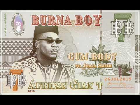 Burna Boy Gum Body Feat Jorja Smith