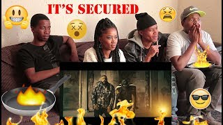 DJ Khaled - It's Secured Ft. Nas, Travis Scott (Frying Pan Reactions)