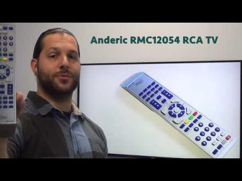 ANDERIC RMC12054 RCA TV Remote Control