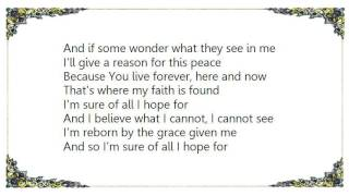 Christine Dente - Sure of All I Hope For Lyrics