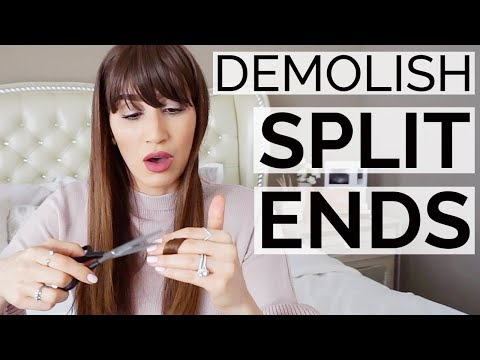 10 Clever Cheats To Demolish Split Ends