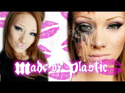 Made of Plastic/Melted Barbie Makeup Tutorial