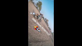 Drone chasing Kawasaki KLX250 & Hero Xpulse Rally Kit | FPV & motocross