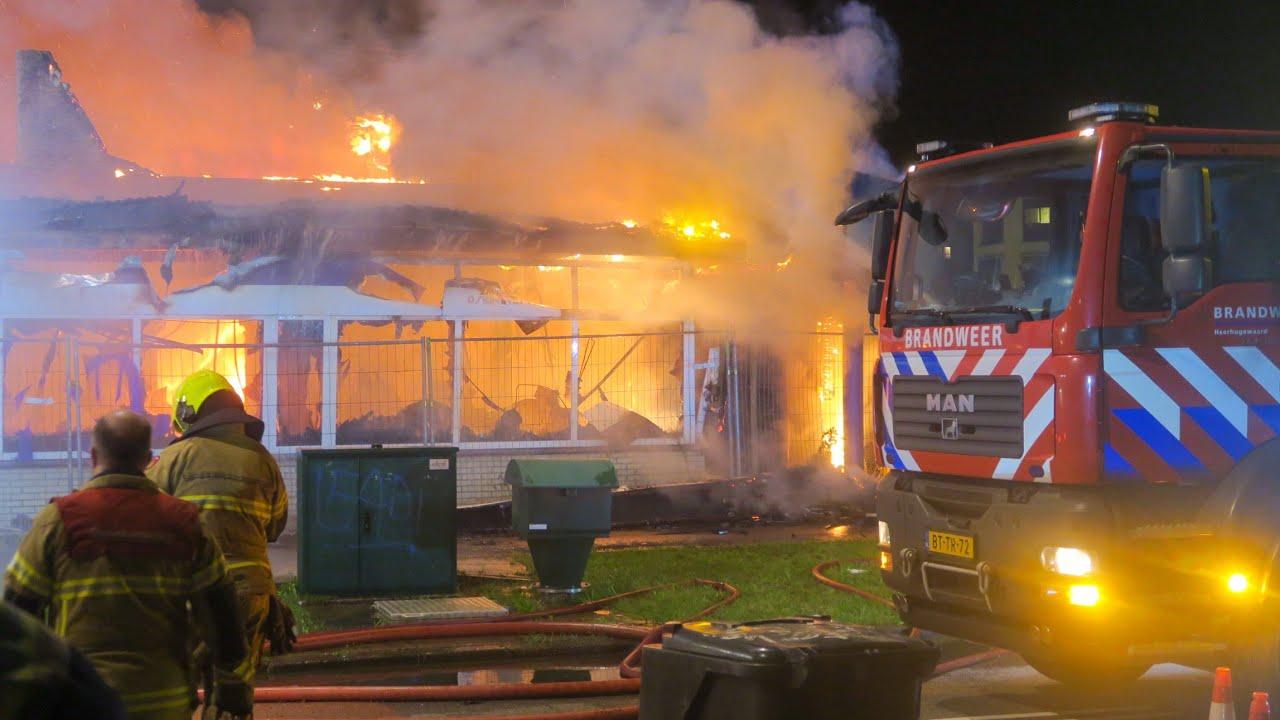 Leegstaand restaurant in Heerhugowaard gaat in vlammen op | 08/09/2020