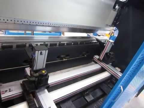 Plegadoras hidráulicas CNC SYNCRO máquina 8+1 axis prensa bending press brake machine ---- China Ang