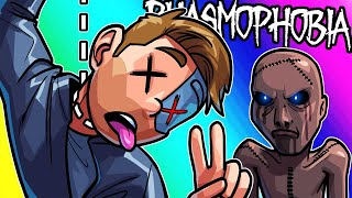 Phasmophobia Funny Moments - Sitting in our Miming Corner!
