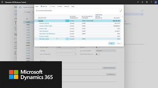 How to set up chart of accounts in Dynamics 365 Business Central